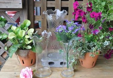 S 玻璃花瓶  (3個尺寸)